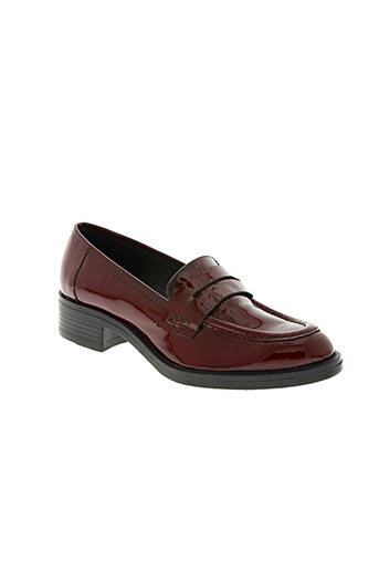 donna piu chaussures femme de couleur rouge