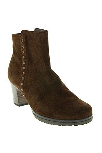 gabor chaussures femme de couleur marron