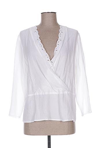 ese o ese chemises femme de couleur blanc