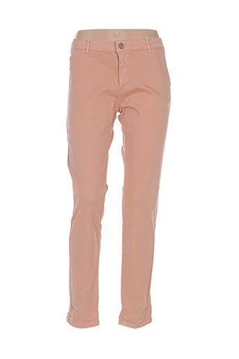 Pantalon casual orange BÔ-M pour femme