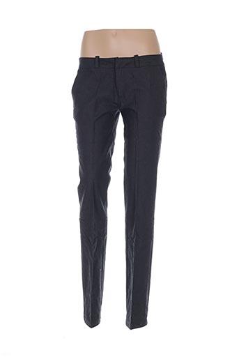 Pantalon casual gris AMY GEE pour femme