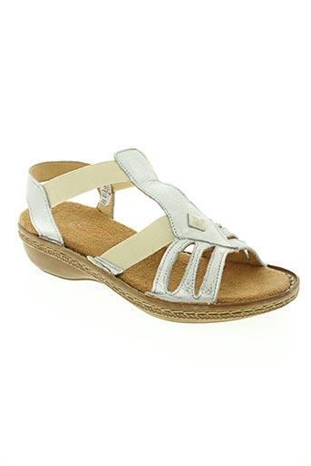 soleflex chaussures femme de couleur gris