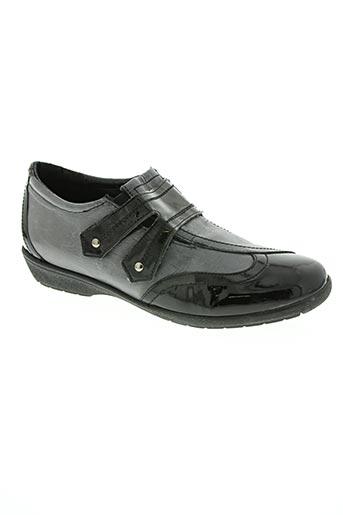 saimon chaussures femme de couleur gris