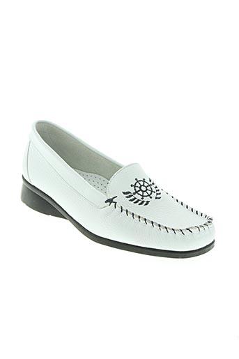 kim chaussures femme de couleur blanc
