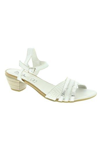 inea chaussures femme de couleur blanc