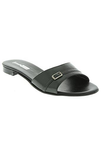 strade varie chaussures femme de couleur noir