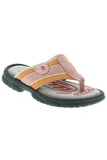tty chaussures fille de couleur rose