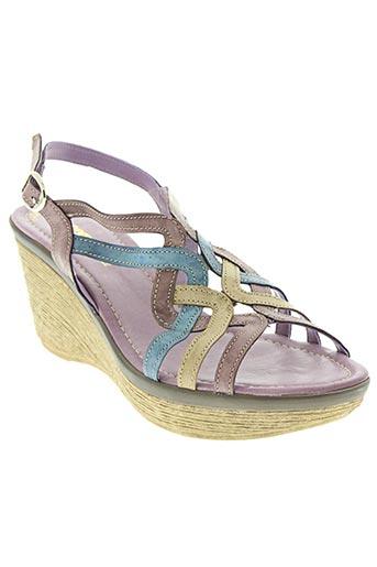 samoa chaussures femme de couleur violet