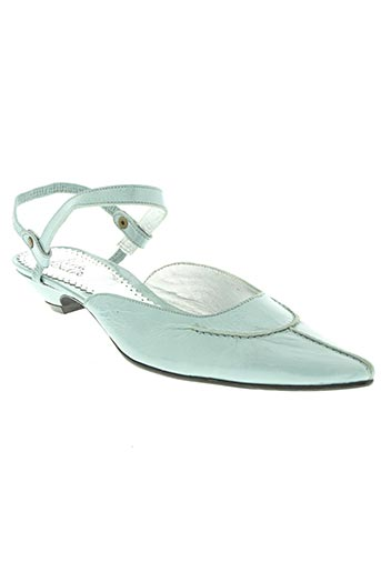 paradoxale chaussures femme de couleur bleu