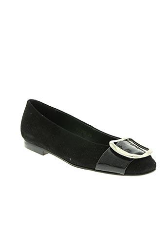 quinto chaussures femme de couleur noir