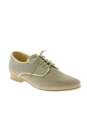 fee no men chaussures femme de couleur beige