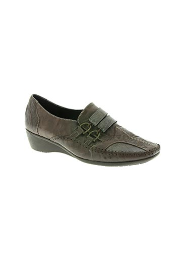 pedi girl chaussures femme de couleur marron