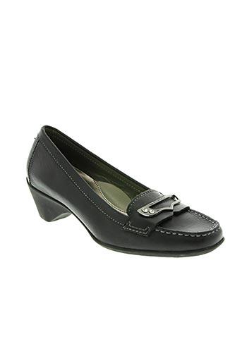 stonefly chaussures femme de couleur noir