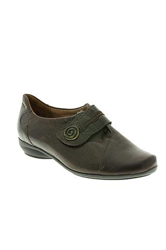 solidus chaussures femme de couleur marron