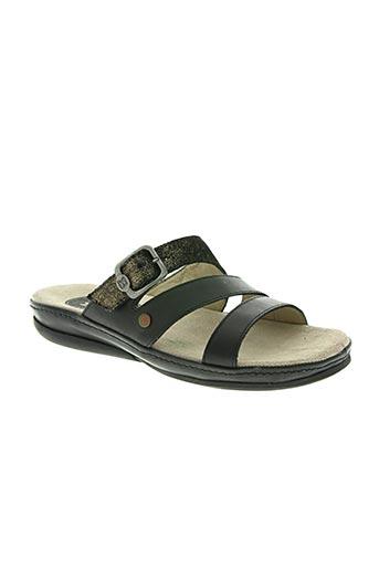 buggy chaussures femme de couleur noir