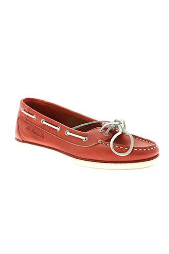 tbs chaussures femme de couleur rouge