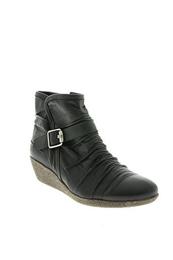 pedi girl chaussures femme de couleur noir