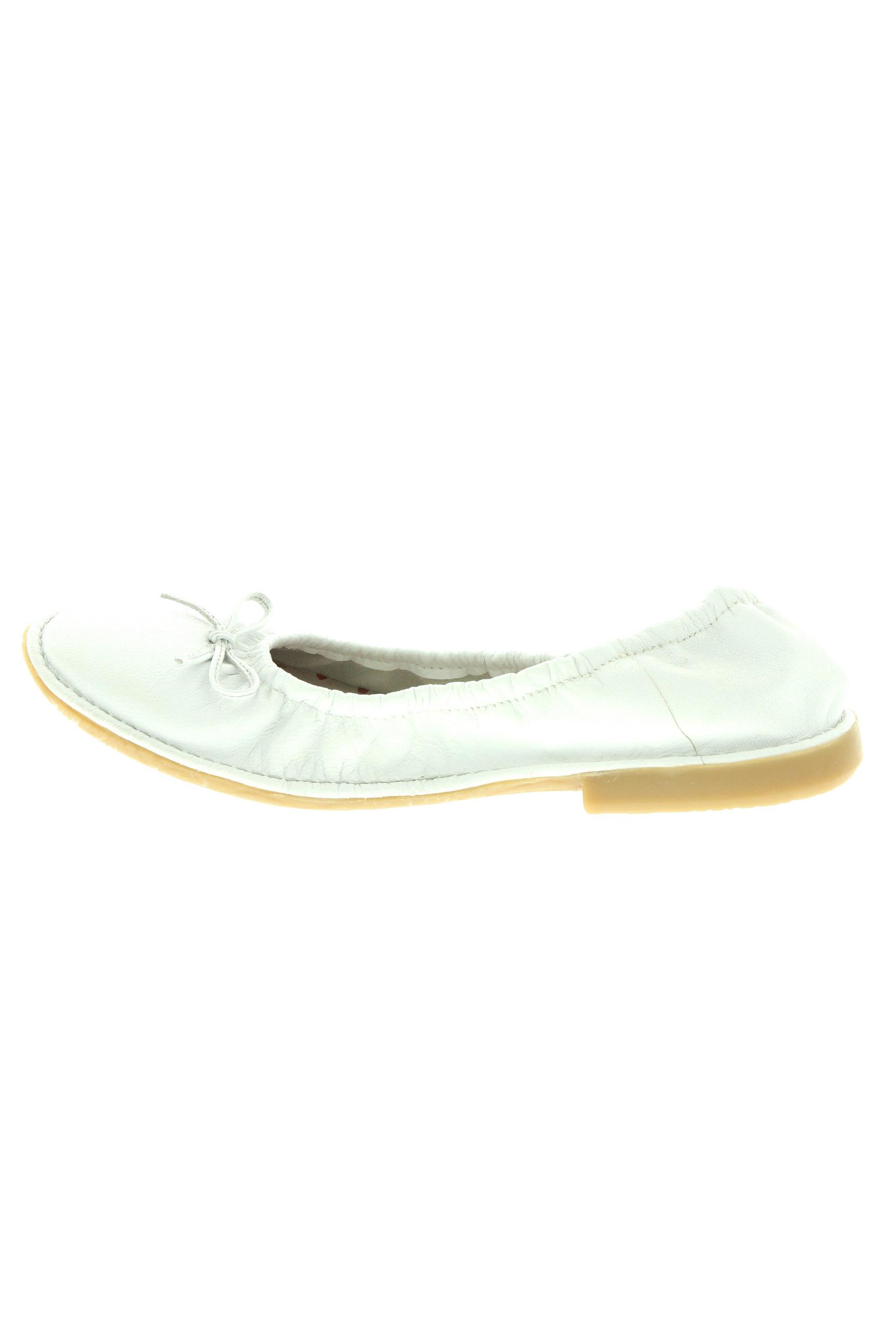 Buggy Ballerines Femme De Couleur Blanc En Soldes Pas Cher 1256978-blanc0