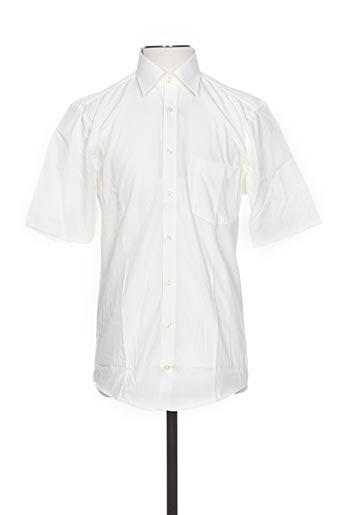 optimal chemises homme de couleur beige