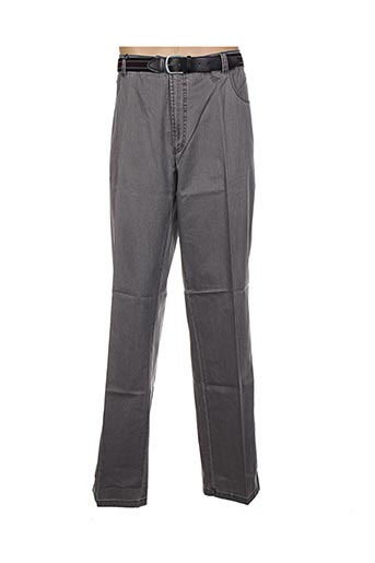 optimal pantalons homme de couleur gris
