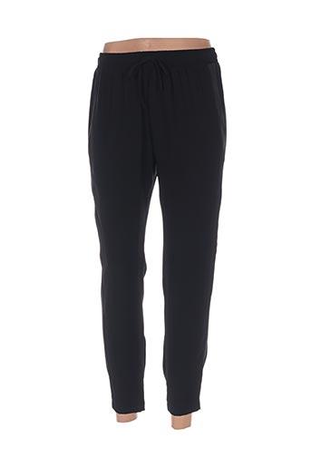 Pantalon 7/8 noir ALEPH pour femme