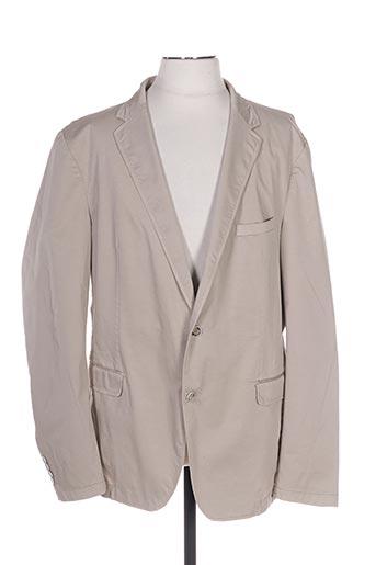 Veste chic / Blazer beige STRELLSON pour homme