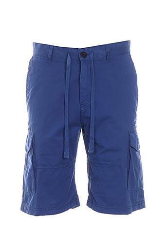 Bermuda bleu STRELLSON pour homme