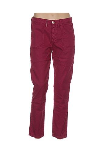 Pantalon casual violet ISLOW pour femme