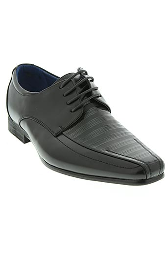 styled in italy chaussures homme de couleur noir