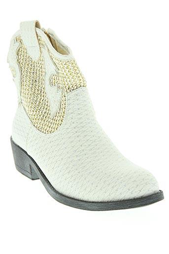 raxmax chaussures femme de couleur blanc
