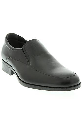 baerchi chaussures homme de couleur noir