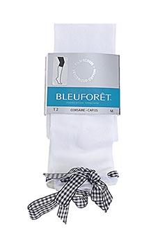 Corsaire blanc BLEU FORET pour femme