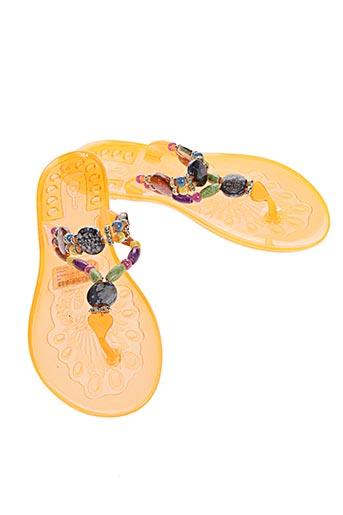 les p'tites bombes chaussures femme de couleur orange