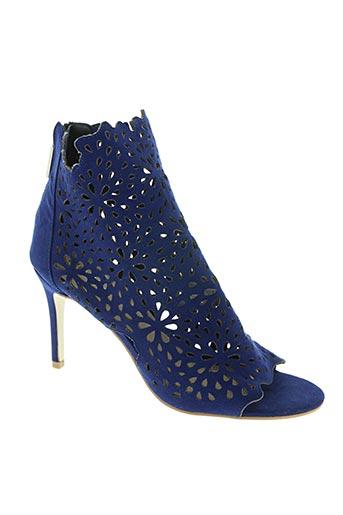 morgan chaussures femme de couleur bleu