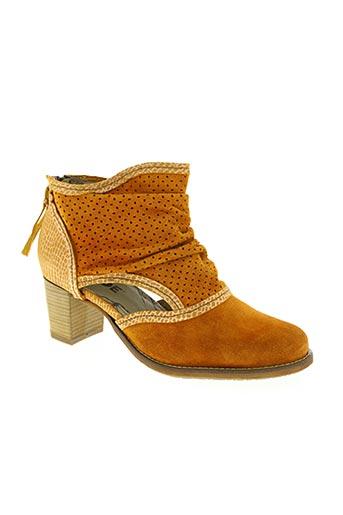 dkode chaussures femme de couleur orange
