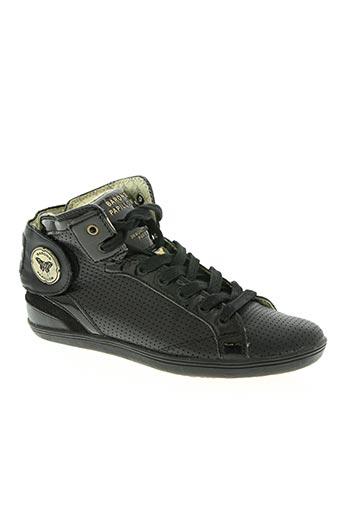 barons papillom chaussures femme de couleur noir