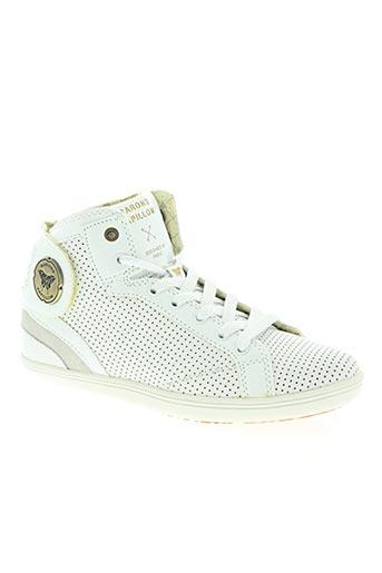 barons papillom chaussures femme de couleur blanc