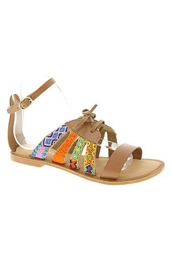 lollipops chaussures femme de couleur marron