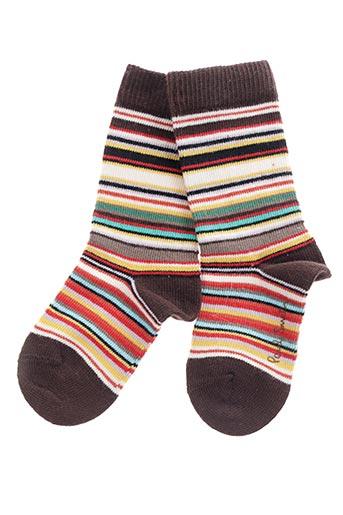 Chaussettes marron PAUL SMITH pour garçon