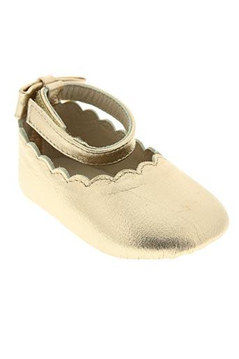 chloe chaussures fille de couleur jaune