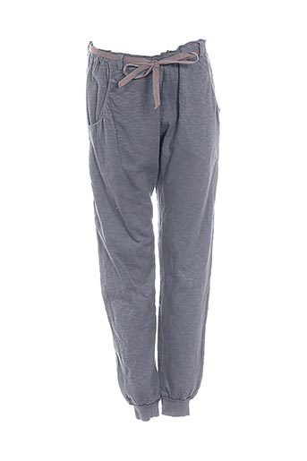 Pantalon casual gris BABE & TESS pour fille