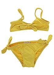 Maillot de bain 2 pièces jaune FRENCHY YUMMY pour fille seconde vue