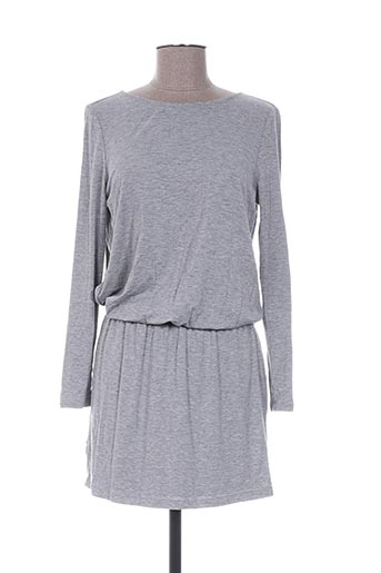 Robe courte gris ANDY & LUCY pour femme