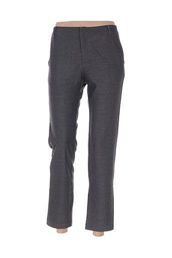 chattawak pantalons femme de couleur gris