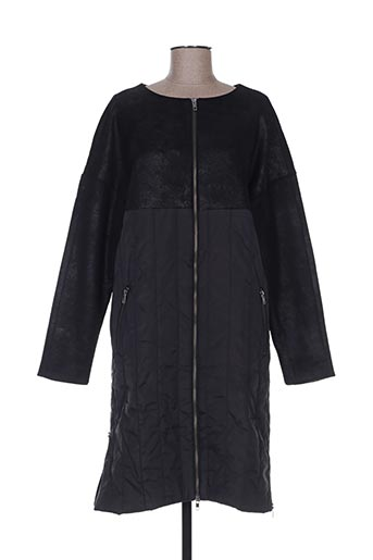 nü manteaux femme de couleur noir