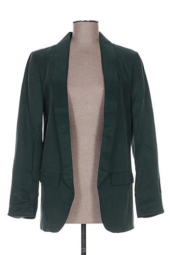 Veste casual vert YAYA pour femme