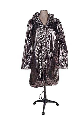 yaya manteaux femme de couleur gris