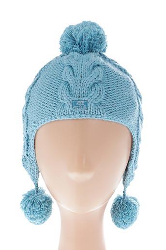 Bonnet bleu LILI GAUFRETTE pour garçon
