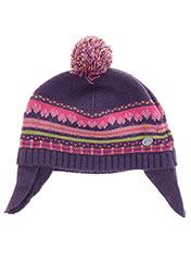 Bonnet violet ABSORBA pour fille seconde vue