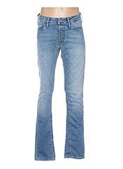 Jeans coupe slim bleu JACK & JONES pour homme seconde vue